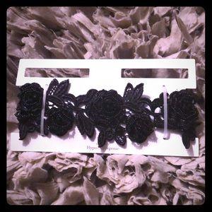 💥Final Price💥 Black Lace Choker